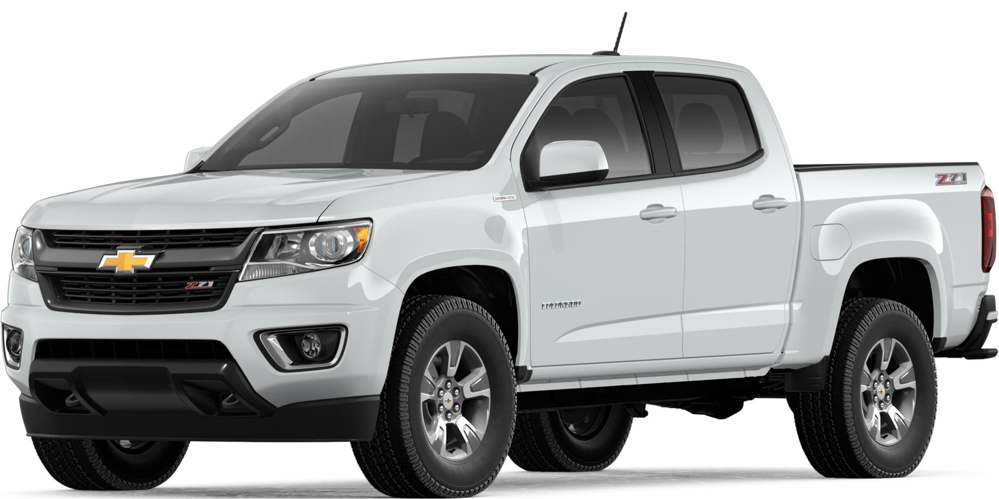 2019 colorado mid size truck diesel truck Blue Chevy Colorado summit white