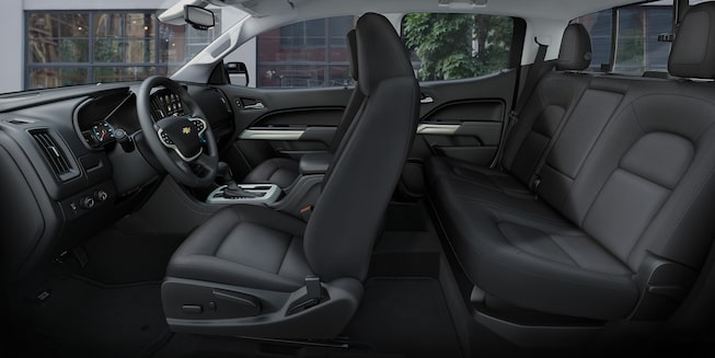 2019 Colorado Mid-Size Truck Interior Photo: seating