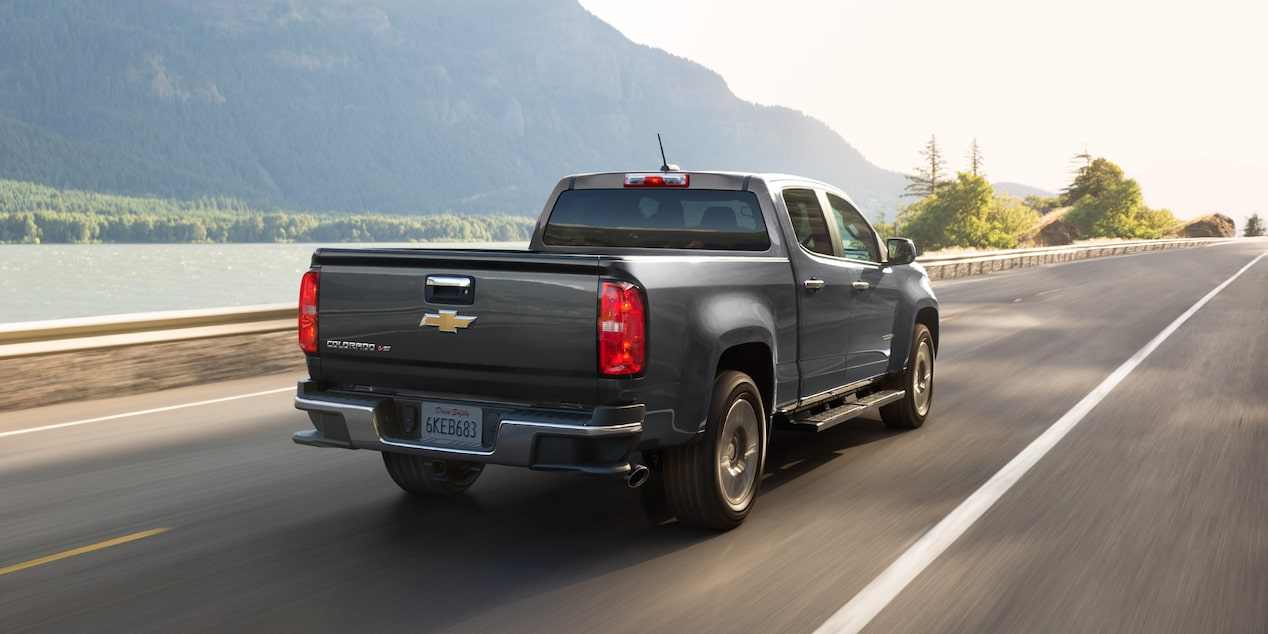 2019 Colorado Mid Size Truck Design Rear View