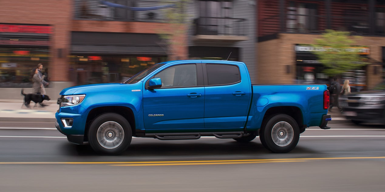 2019 Colorado Mid Size Truck Design Side Profile