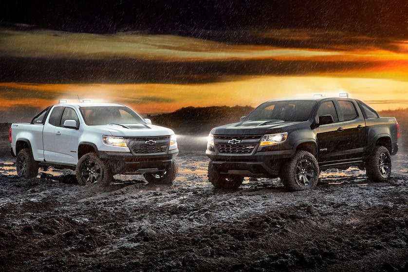 2019 Colorado Mid-Size Truck Design: special editions - ZR2 Midnight and Dusk