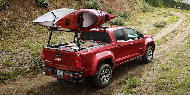 2019 Colorado Mid-Size Truck Design: utility racks