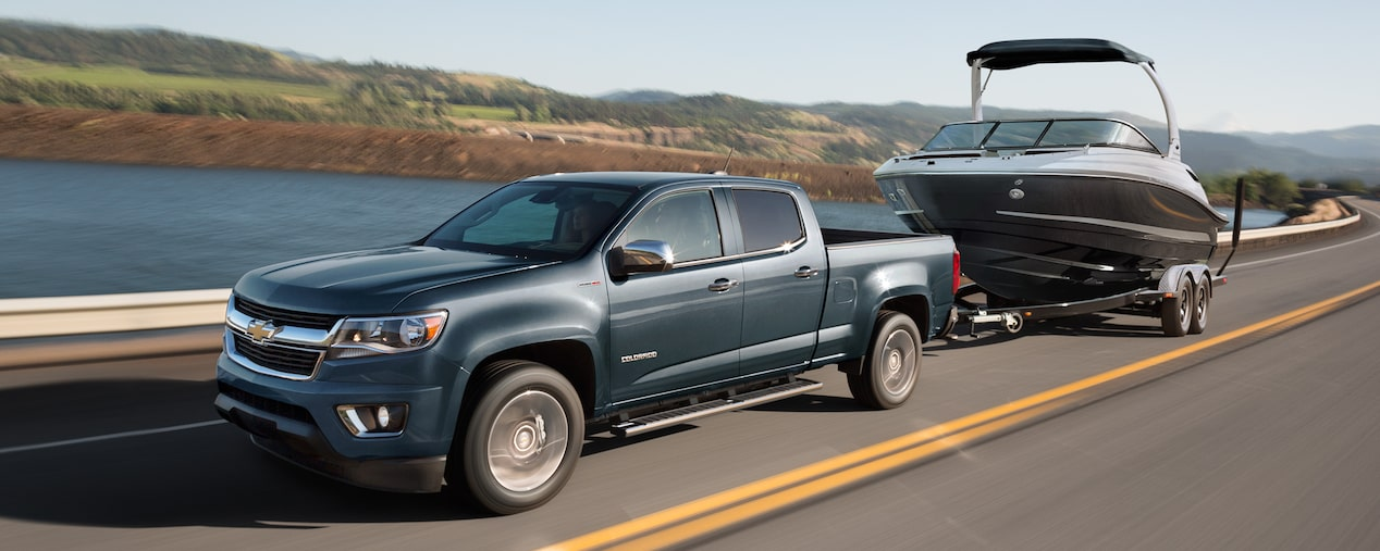 2019 Colorado Mid Size Truck Performance Towing