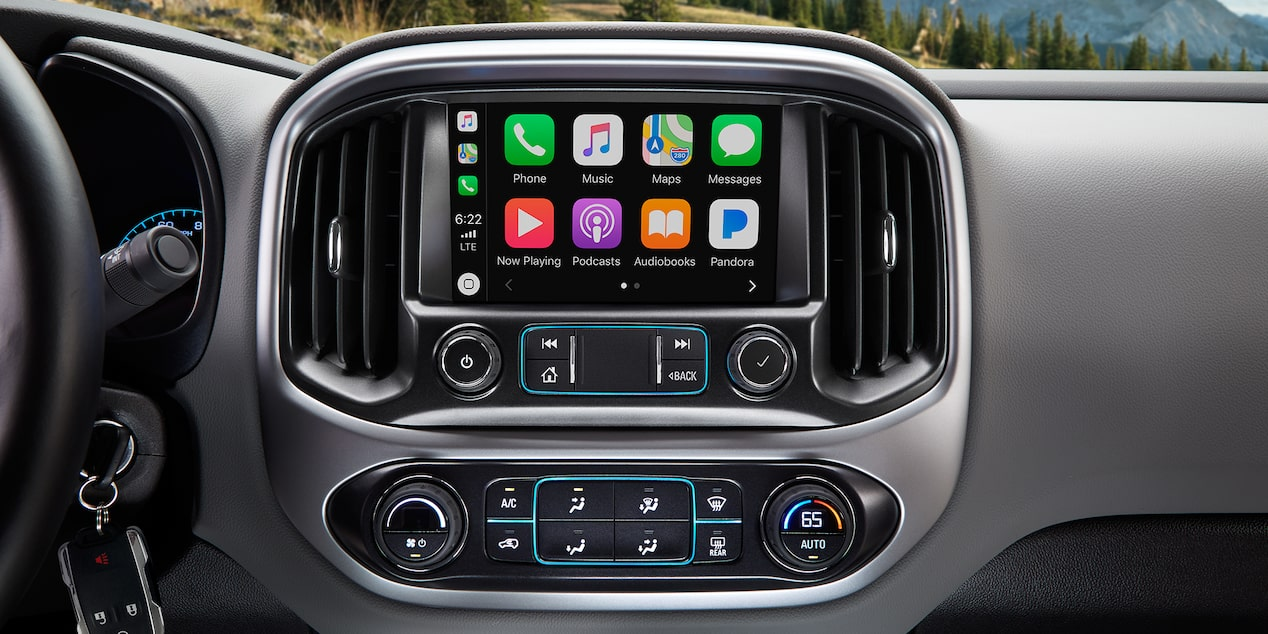2019 Colorado Mid-Size Truck Technology: color touch screen