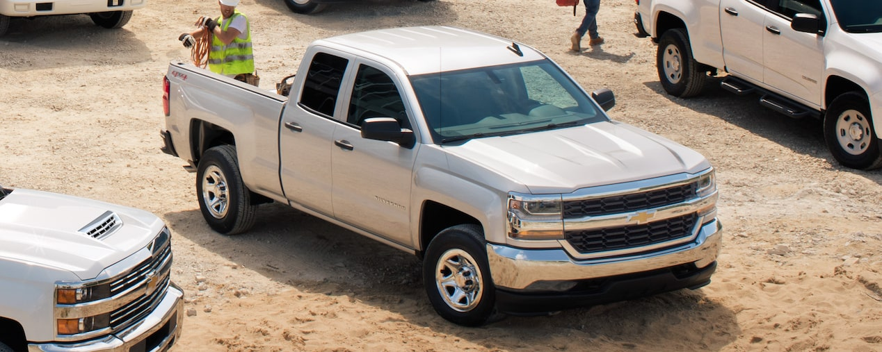 2019 Silverado 1500 Work Truck: front side view