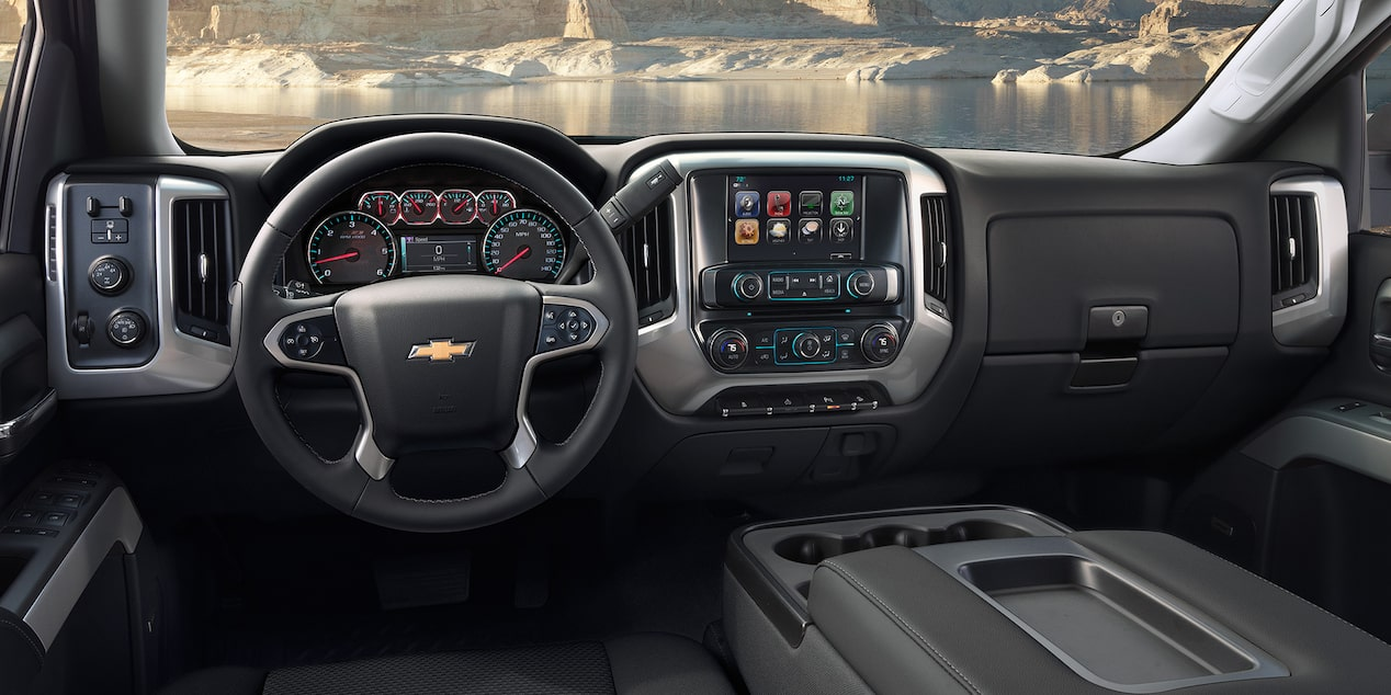 2019 Silverado 1500 Pickup Truck Design: dashboard