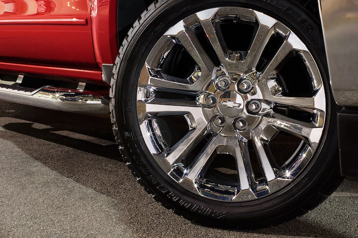 2019 Silverado 1500 Pickup Truck Accessories: Wheel