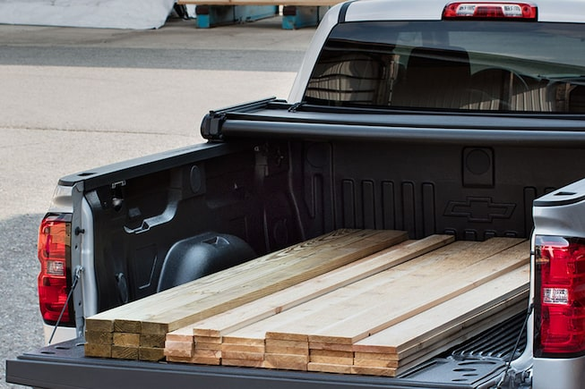 2018 Silverado 1500  Pickup Truck Performance: Truck Bed