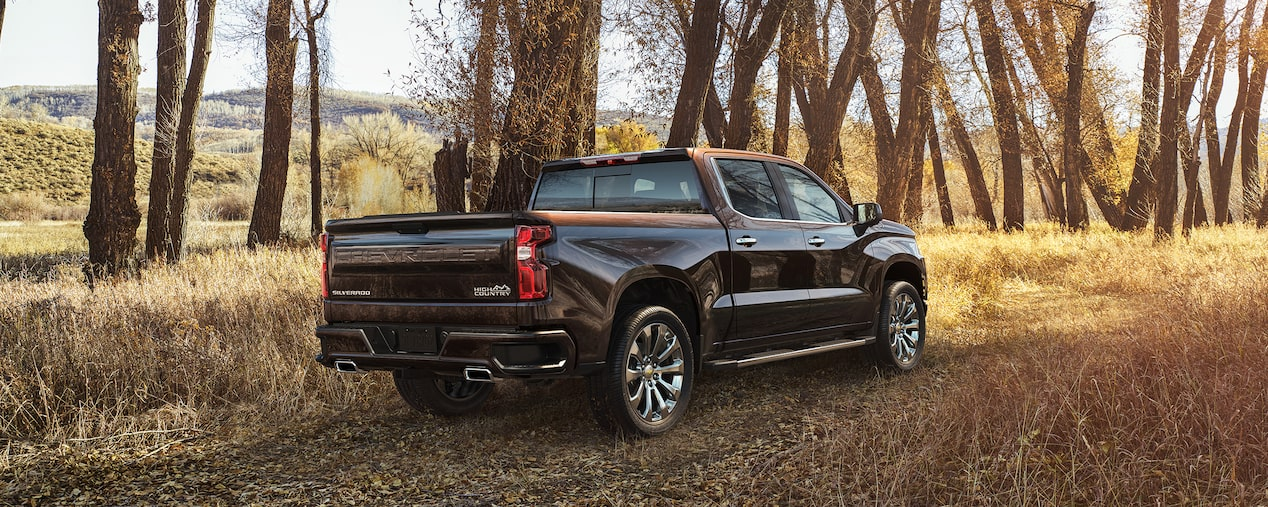2019 Silverado High Country Rear