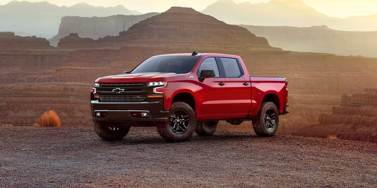 All New 2019 Silverado Pickup Truck Chevrolet