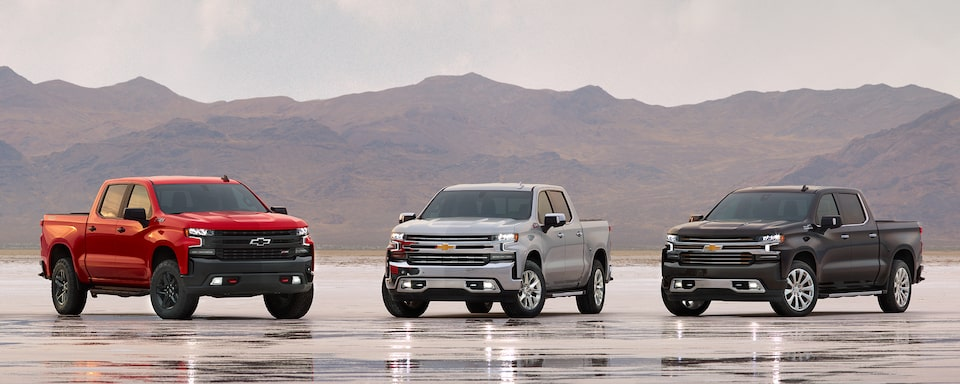 Chevy Build And Price >> All New 2019 Silverado 1500 Pickup Truck Full Size Truck