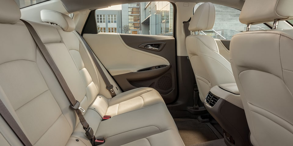 2020 Chevy Malibu Midsize Car Rear Leather Seats