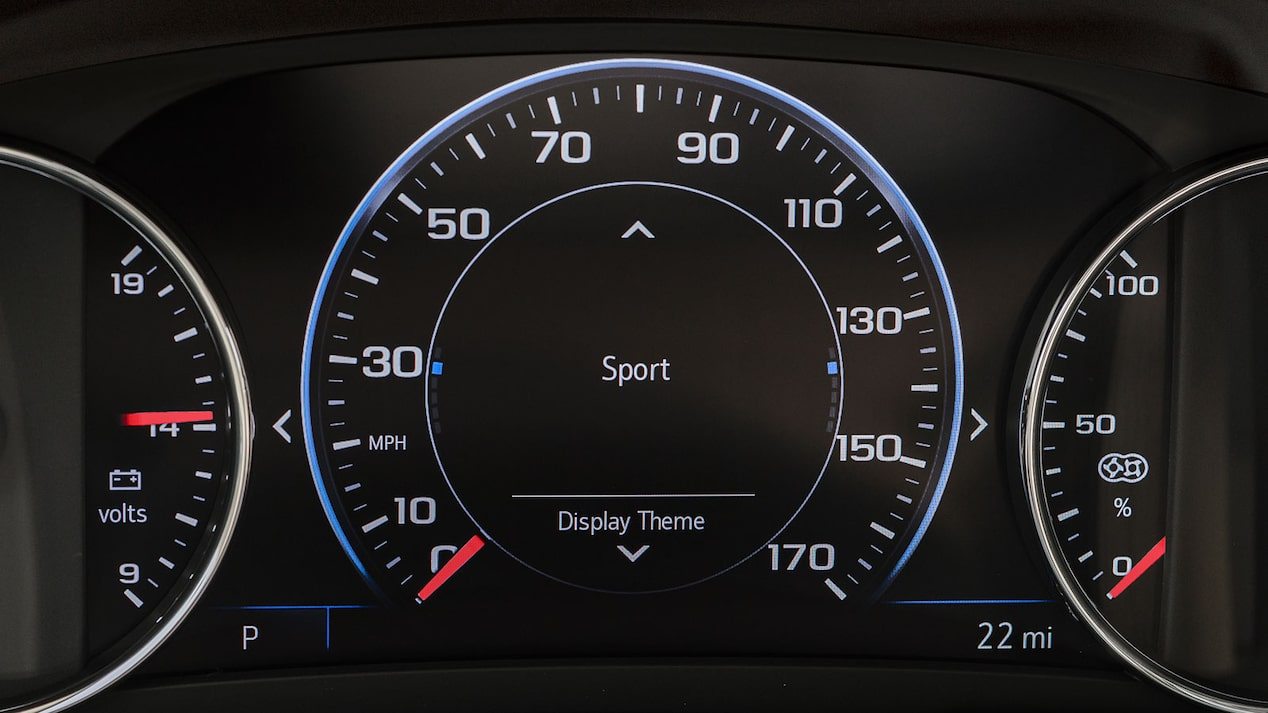 2020 Chevy Malibu Midsize Car Driver Instrument Cluster