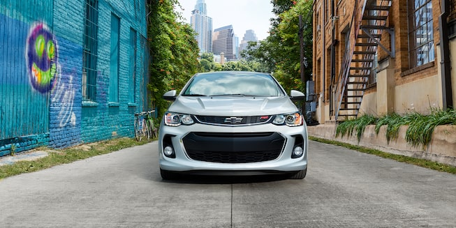 2020 Chevrolet Sonic Small Car Front Grille Exterior