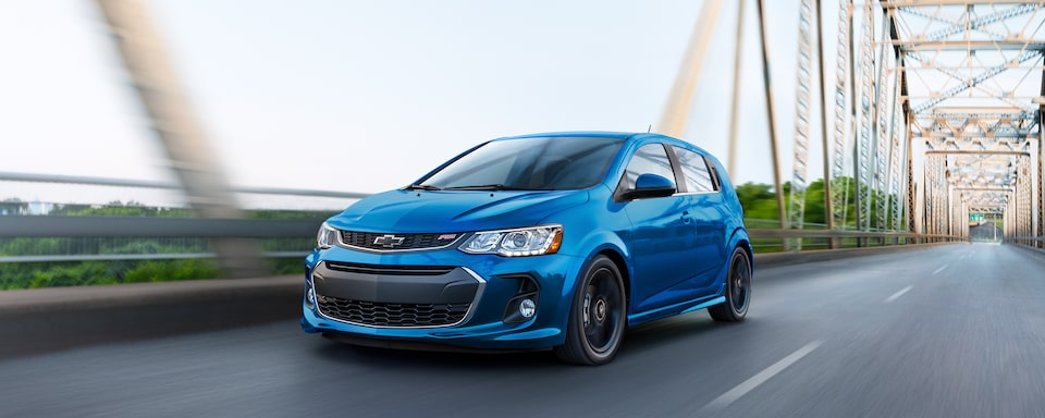 2020 Chevrolet Sonic Small Car Front Side Exterior