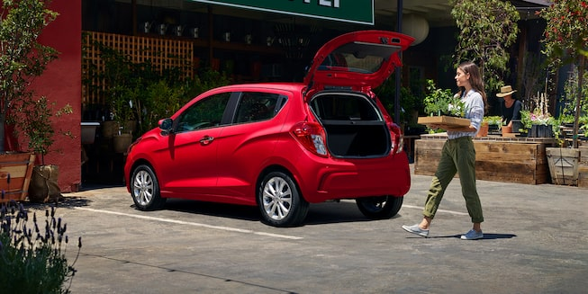 2020 Chevy Spark Compact Car Cargo Space
