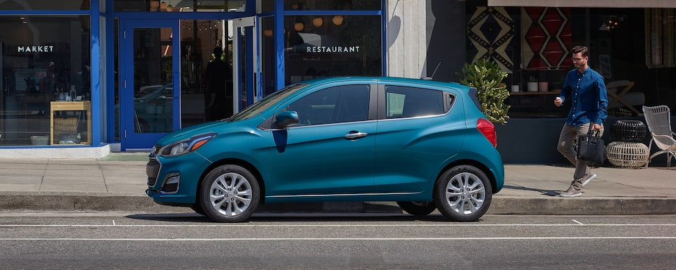 2020 Chevy Spark Compact Car Side Exterior View