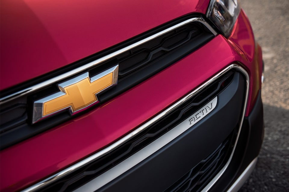 2020 Chevy Spark Compact Car Chevrolet Badge