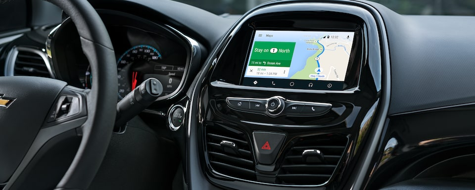2020 Chevy Spark Compact Car Navigation Map