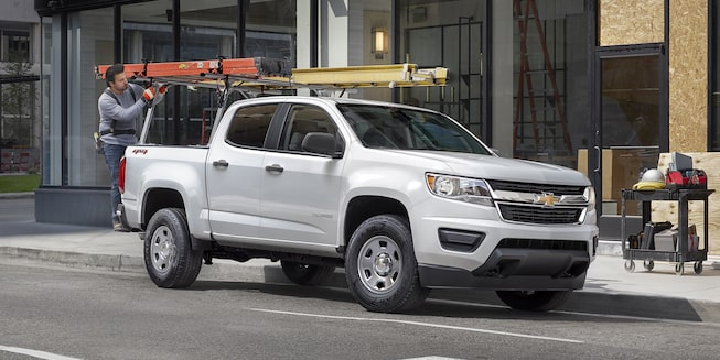 2020 Colorado Commercial Work Truck Exterior Photo: passenger side