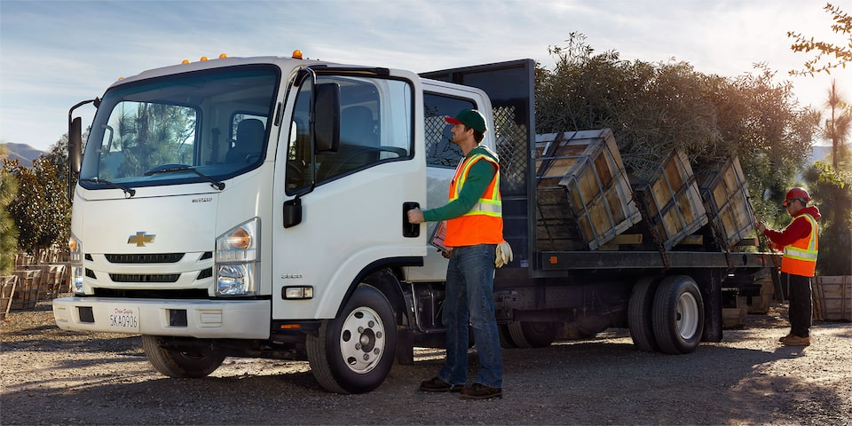 Chevy Low Cab Forward: Upfit Options