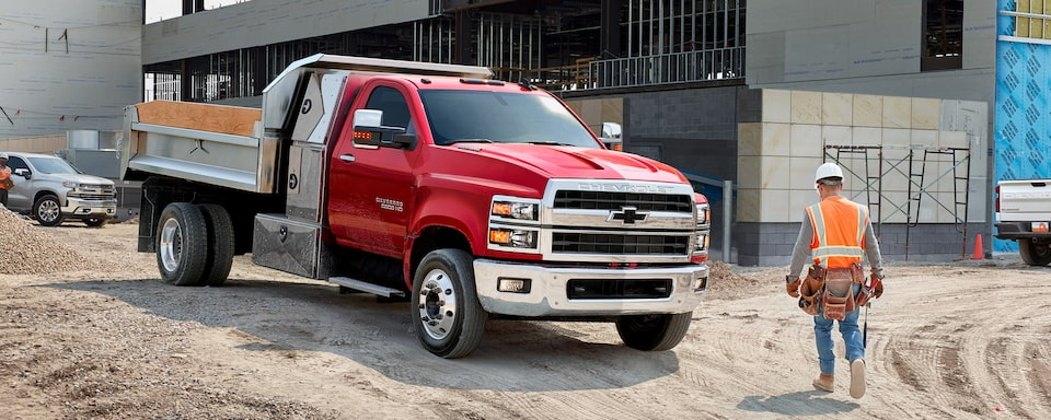 Silverado Chassis Cab Design: Passenger Side View