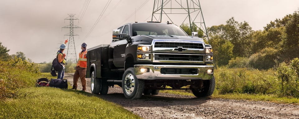 Silverado Chassis Cab Design: Front side angle