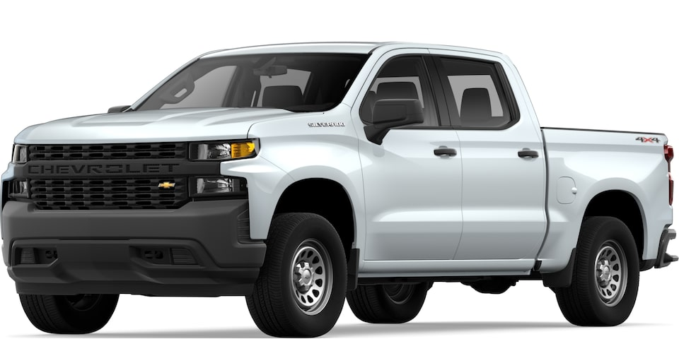 2020 Chevy Silverado 1500 Work Truck Commercial
