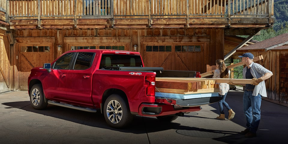 2020 Silverado LD Commercial Work Truck Bed Side view