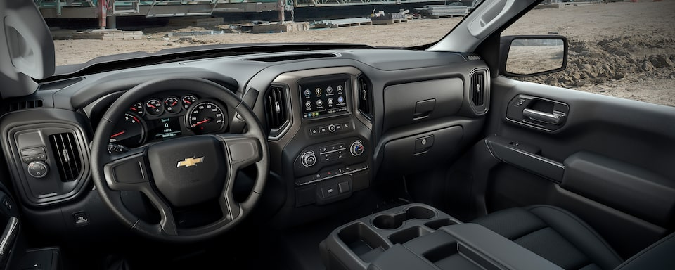 2020 Silverado LD Commercial Work Truck Interior Dash Board