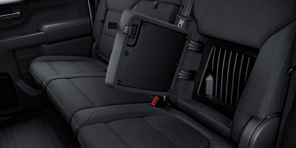 2020 Silverado LD Commercial Work Truck Rear Seat Storage