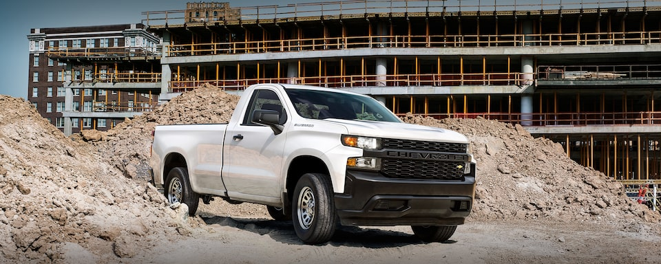 2020 Silverado LD Commercial Work Truck Regular Cab front View
