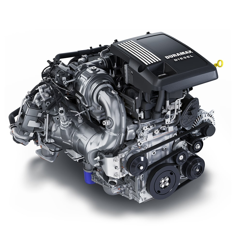 3.0L Duramax Turbo-Diesel Engine Icon
