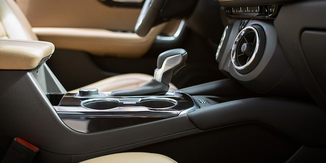 2020 Chevy Blazer Sporty SUV: interior shift knobs with the air ionizer