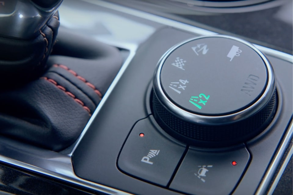2020 Chevy Blazer Sporty SUV: Traction system control