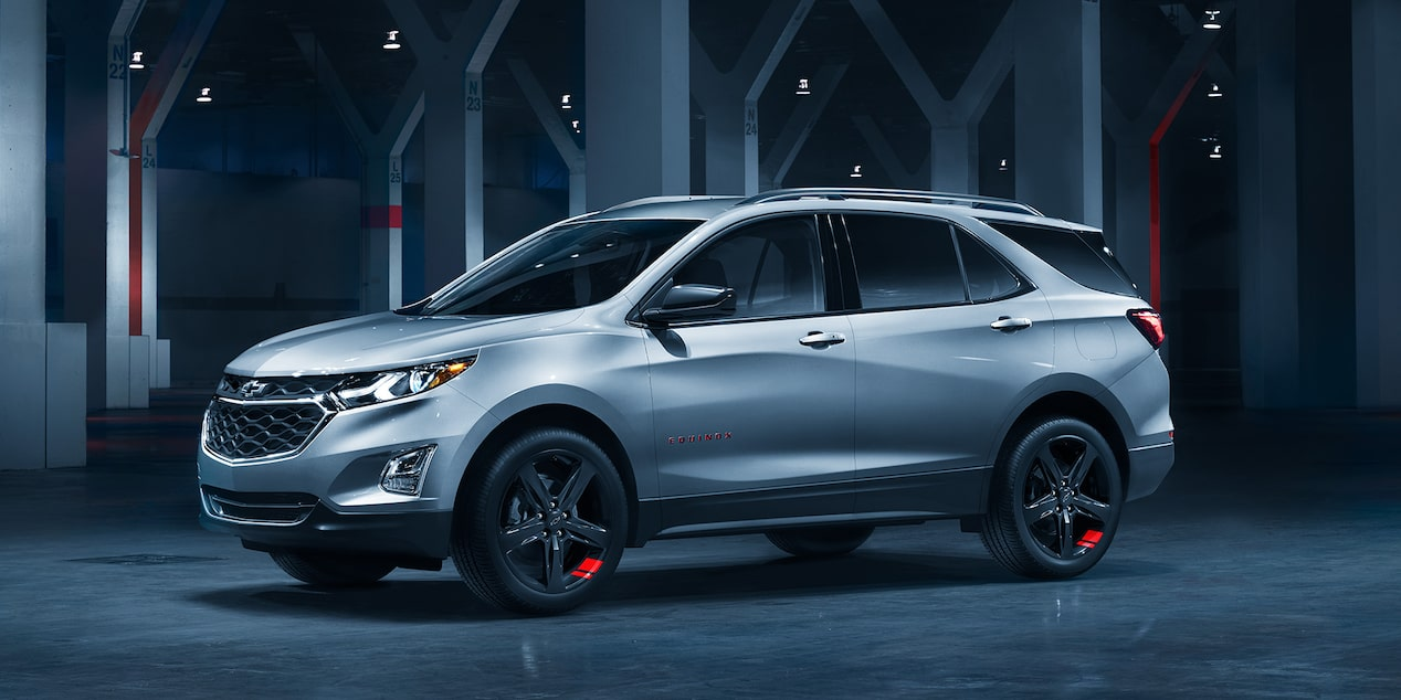 2020 Chevrolet Equinox Redline Edition Small SUV Side View