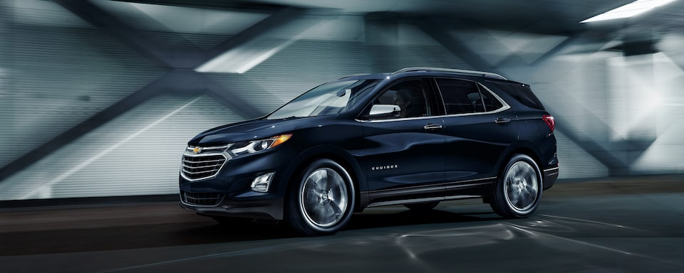 2020 Chevrolet Equinox Small SUV Front Side Exterior View