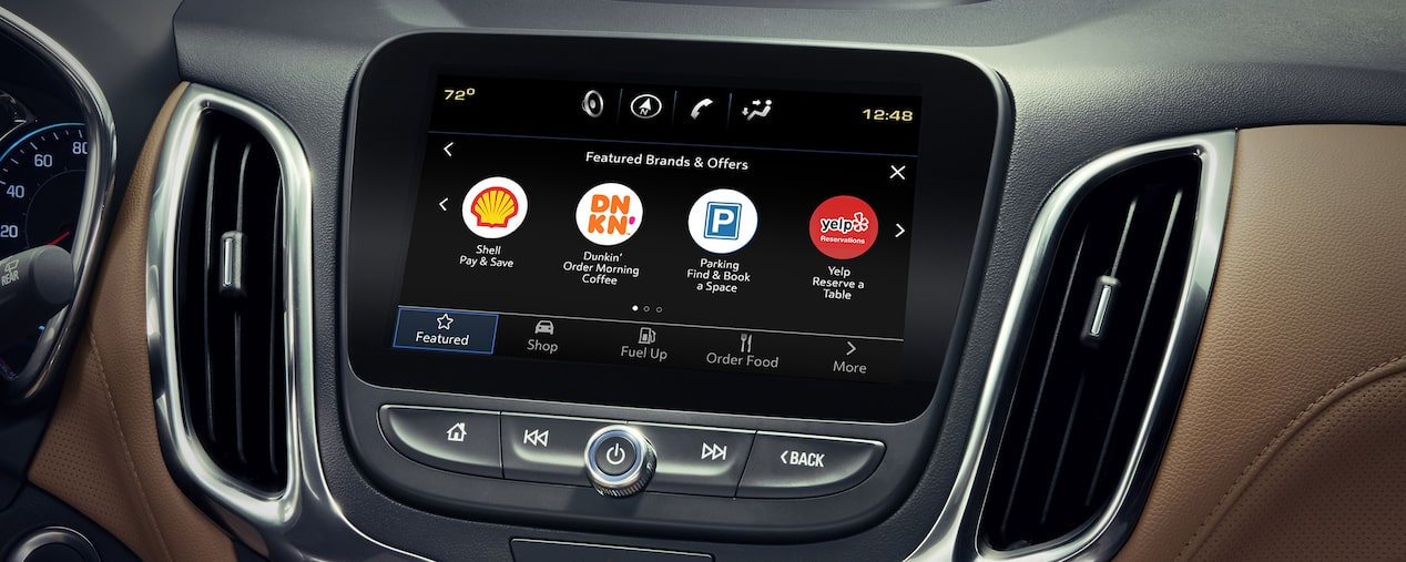 2020 Equinox Small SUV: Chevy Marketplace App