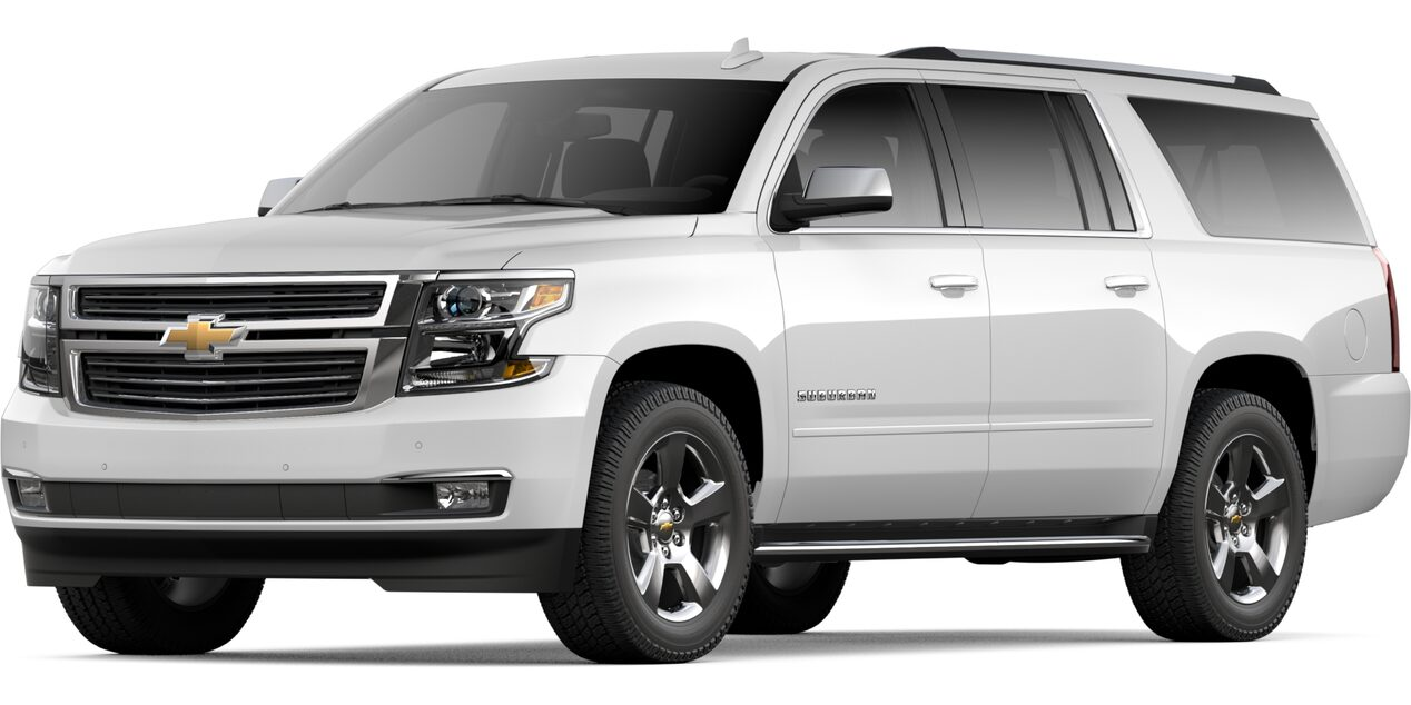 2020 Chevy Suburban | Large SUV | 7, 8, or 9 Seat Options