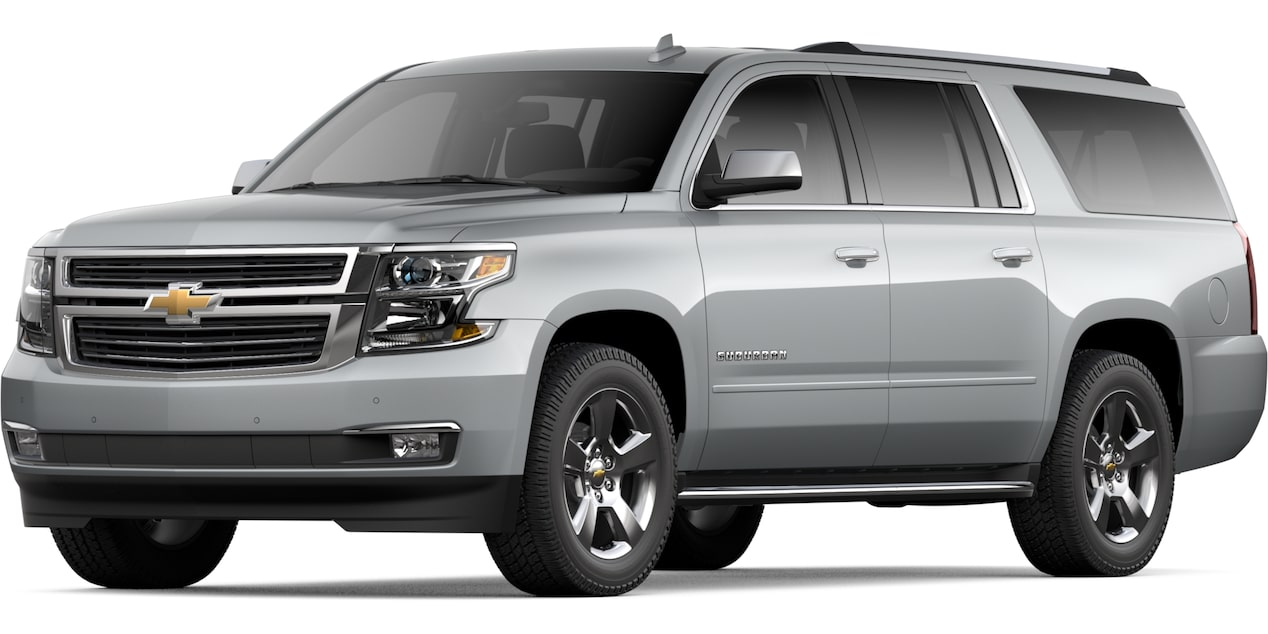 2020 Chevy Suburban Large Suv 7 8 Or 9 Seat Options
