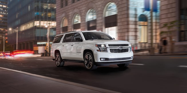 2020 Suburban Large SUV Front Night View