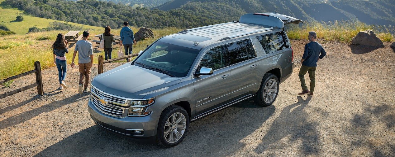 2020 Suburban Large SUV Design: Exterior Front View
