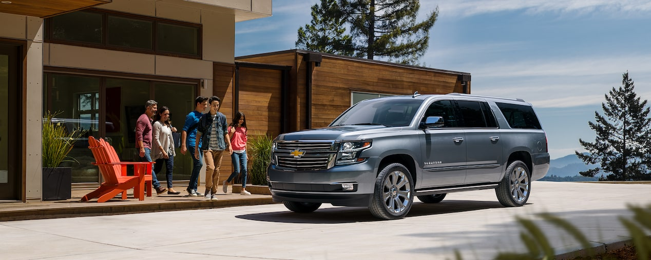 2020 Suburban Large SUV Design: Family & Friends Vehicle