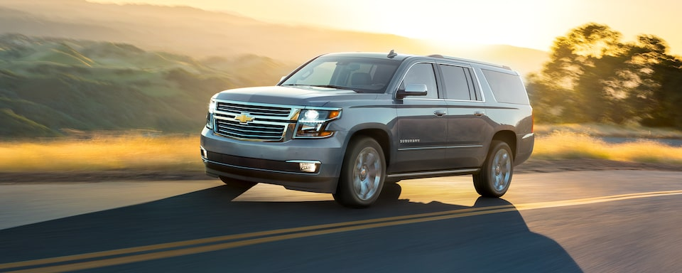 2020 Suburban Large SUV Design: Road Trip Front View