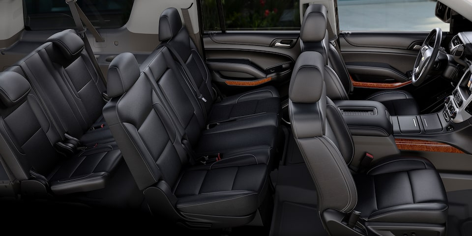 2020 Suburban Large SUV Interior Seating