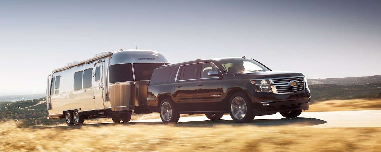 2020 Suburban Large SUV Performance: Towing