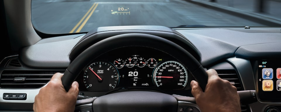 2020 Suburban Large SUV Technology:  Heads Up Display