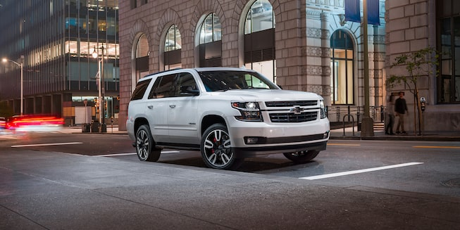 2020 Chevrolet Tahoe Full-Size SUV RST Edition front side exterior