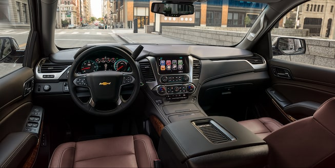 2020 Chevrolet Tahoe Full-Size SUV dashboard interior