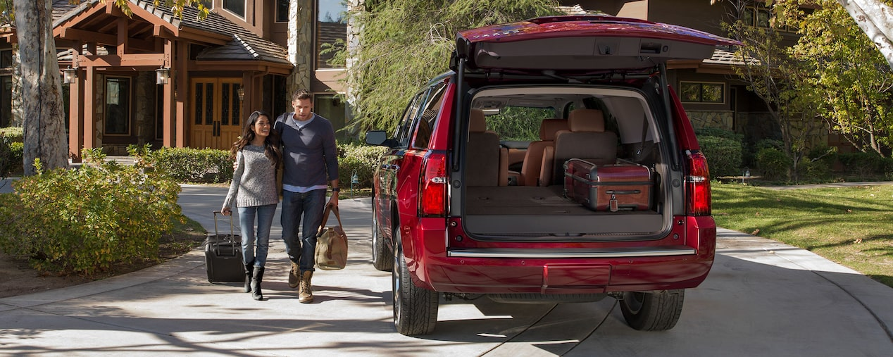 2020 Chevrolet Tahoe Full-Size SUV rear liftgate open
